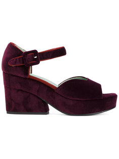 сандалии на платформе Paola Darcano