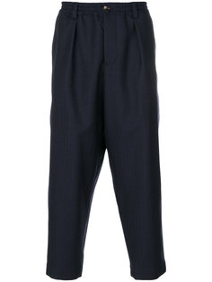 брюки с заниженной проймой Marni