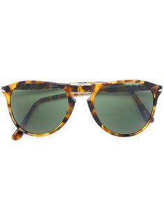 складные солнцезащитные очки с эффектом черепашьего панциря Persol