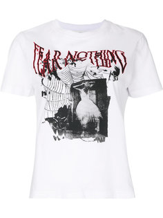 футболка с принтом Fear nothing McQ Alexander McQueen