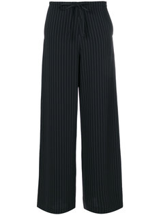 брюки в тонкую полоску McQ Alexander McQueen