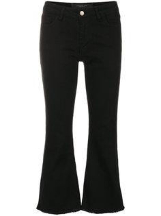 укороченные расклешенные брюки с необработанными краями Federica Tosi