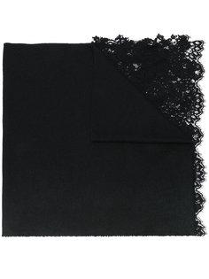 шарф с кружевными вставками Ermanno Scervino