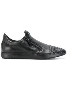 кроссовки без застежки Baldinini