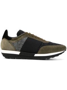 кроссовки с панельным дизайном Moncler