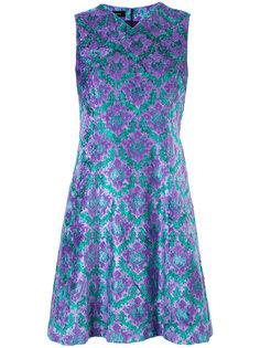 короткое платье с принтом G.V.G.V.