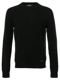 свитер с боковой молнией Dsquared2