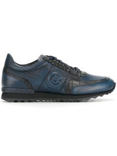 кроссовки с панельным дизайном Baldinini