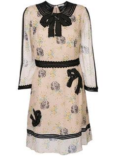 платье мини Georgette Coach