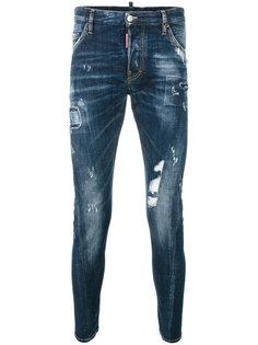 джинсы с протертыми деталями Dsquared2