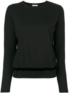 классический вязаный свитер Moncler