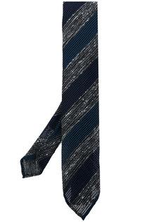 полосатый галстук Lardini