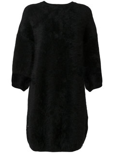 платье-свитер с круглым вырезом Balmain