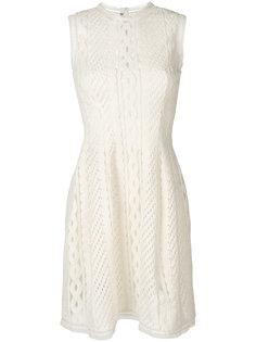 вязаное крючком расклешенное платье Ermanno Scervino
