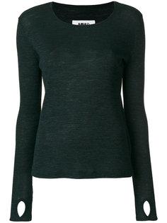 свитер с круглым вырезом Mm6 Maison Margiela