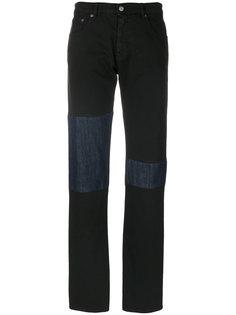 джинсы с заплатками на коленях Mm6 Maison Margiela