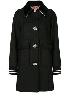 декорированное пальто Nº21