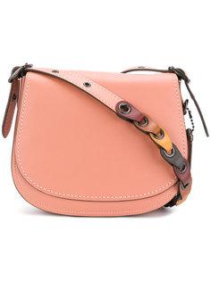 сумка на плечо с откидным клапаном Coach