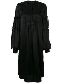 платье с рукавами клеш  Veronique Branquinho