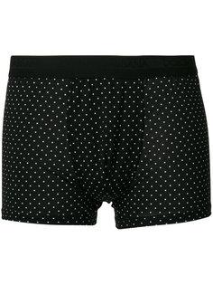 трусы-боксеры с узором в горох Dolce & Gabbana Underwear