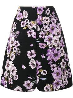 А-образная юбка с цветами Giambattista Valli