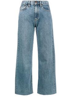 широкие укороченные джинсы Simon Miller