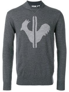 свитер с вышивкой Rossignol