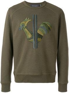 свитер с вышивкой логотипа Rossignol