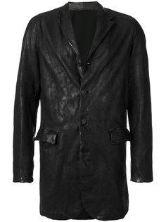 пальто с лацканами Salvatore Santoro