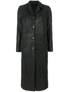 пальто с жатым эффектом Salvatore Santoro