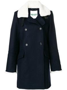 двубортное пальто  Kenzo