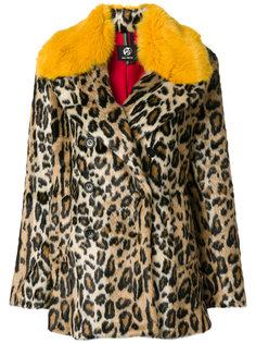 пальто с леопардовым принтом Paul Smith