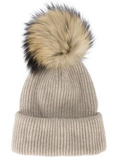 шапка с помпоном Inverni