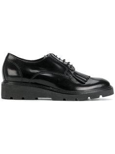 туфли дерби с бахромой P.A.R.O.S.H.