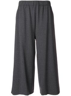 укороченные брюки со сборкой на талии P.A.R.O.S.H.