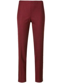 укороченные брюки с заклепками P.A.R.O.S.H.