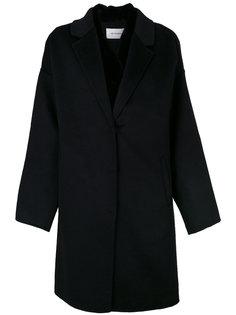 двухслойное пальто свободного кроя Yves Salomon