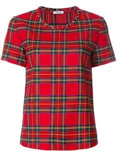 футболка в шотландскую клетку P.A.R.O.S.H.