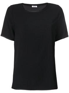 футболка с контрастной окантовкой P.A.R.O.S.H.