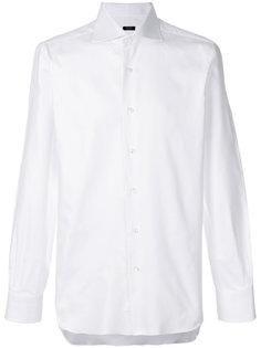 рубашка с воротником с заостренными углами Barba