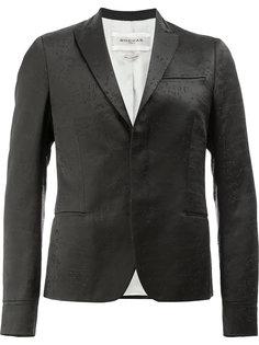 пиджак с потайной застежкой Rochas