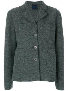 однобортное пальто Americana Aspesi