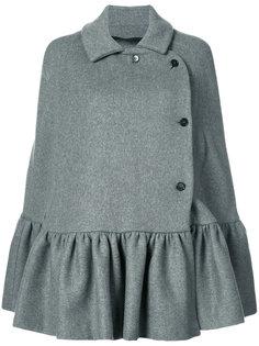 расклешенное пальто MSGM