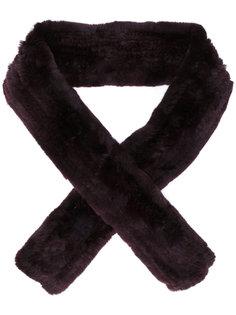 классический шарф Yves Salomon