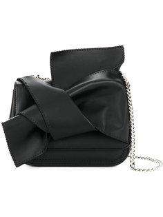 сумка через плечо с деталью с узлом Nº21