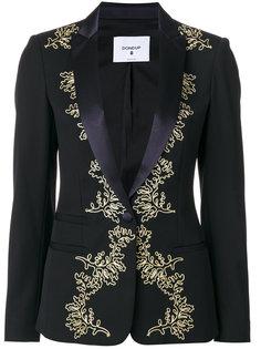 пиджак с вышивкой с металлическим отблеском Dondup