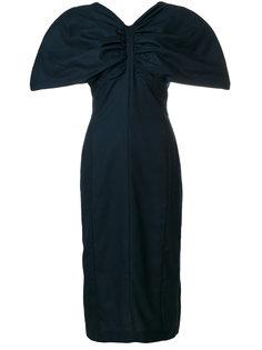 платье с объемными рукавами Jacquemus
