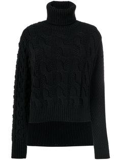 вязаный свитер с высоким воротником Mm6 Maison Margiela