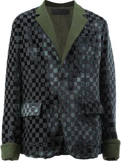 фактурный пиджак Haider Ackermann