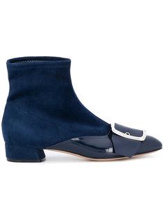 ботинки с пряжкой Casadei